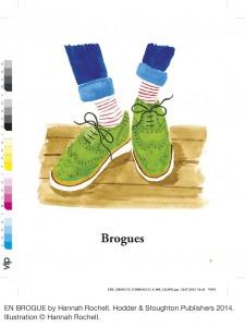 High heels - En Brogue