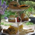 Best bed and breakfast - The Old Rectory of St James afternoon tea