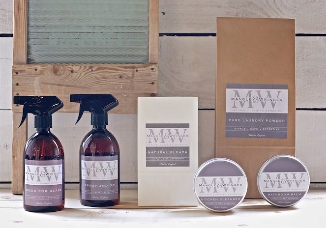 Green cleaning products - Mangle & Wringer