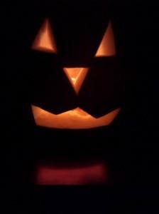 Pumpkin soup - lantern