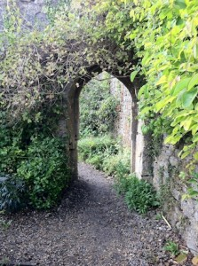The Walled Garden at Mells - archway