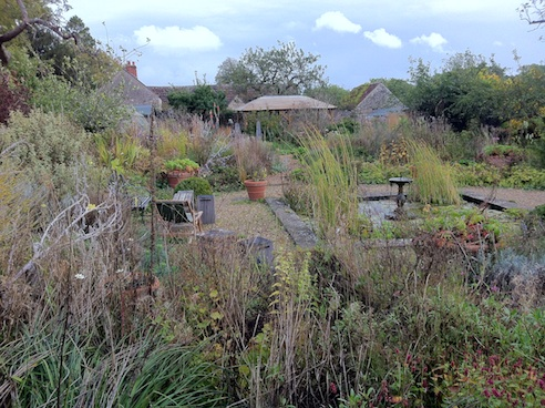 The Walled Garden at Mells - pond