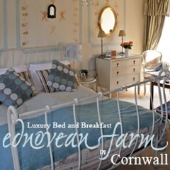 Ednovean Farm luxury B&B Cornwall ad
