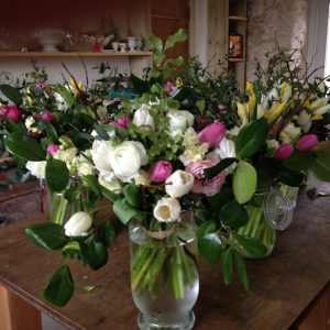 Common Farm Flowers - finished posies