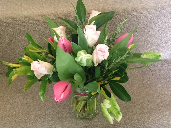 Posy for Clare - Common Farm Flowers workshop