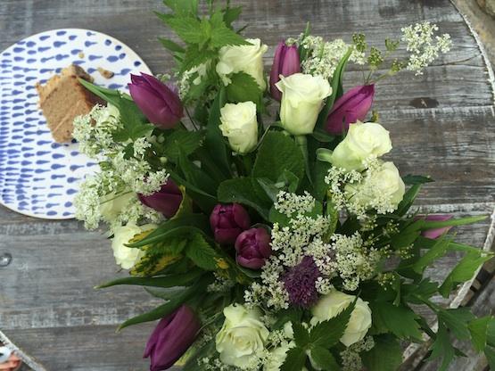 Thank you posy - Common Farm Flowers Workshop