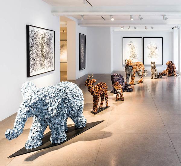 Barnaby Barford - Pall Mall art tour