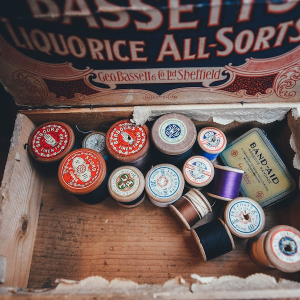 Cotton reels - how to clear your parents house