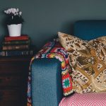 Cushion on sofa - how to clear your parent's house