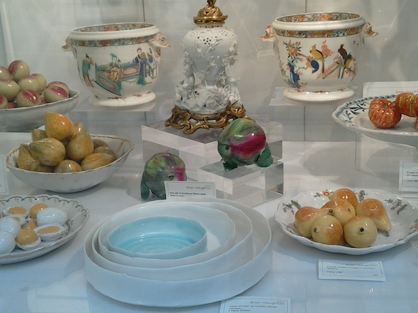 Porcelain Brian Haughton Gallery - Pall Mall art tour