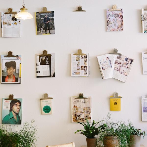 Brighten up workspace walls