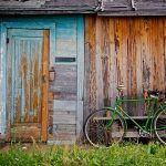 On your bike - green bike
