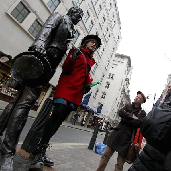 Savile Row tour - Cindy & Beau Brummell