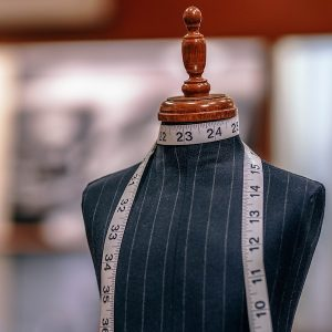 Savile Row tour - tailors dummy