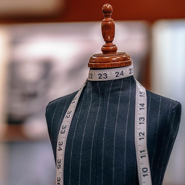 Savile Row tour - tailors dummy