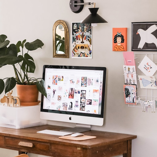Workspace revamp - Unsplash desk