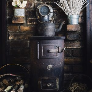 Autumn fires - wood burner