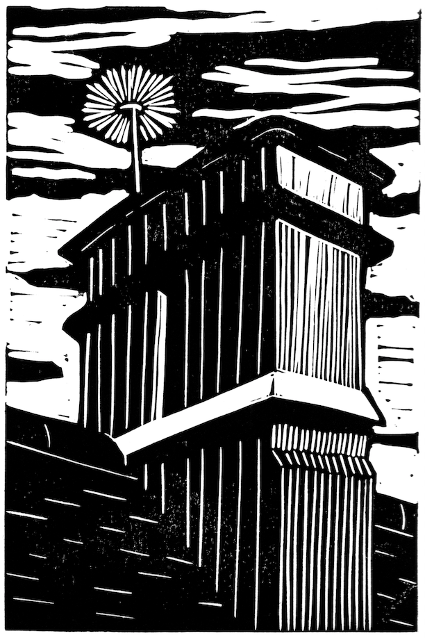 The Little Book of Building Fires - chimney