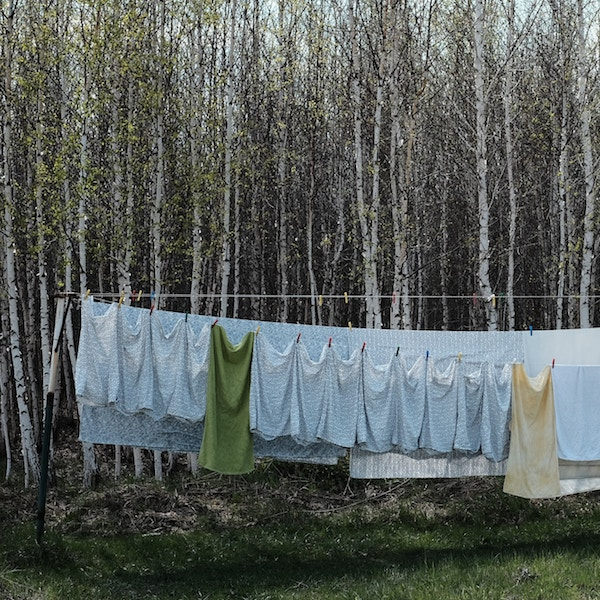 Things to do in spring - washing