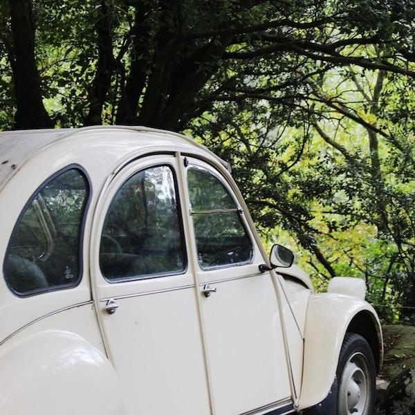 An older car - Citroen