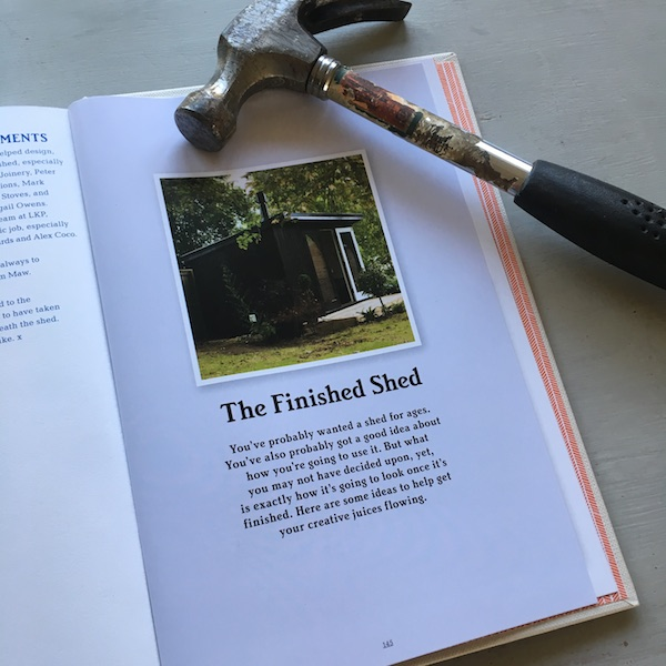 How to Build a Shed - author's shed