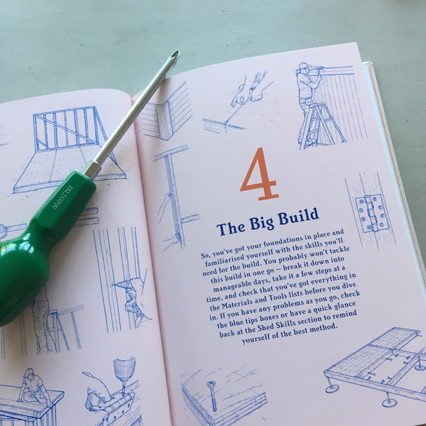 How to Build a Shed - contents